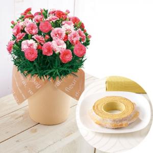 母の日プレゼントお花とお菓子セット